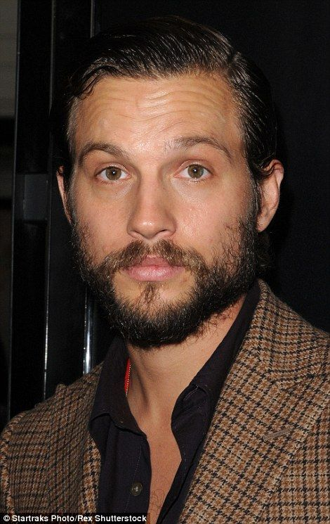 Transatlantic twins: Actor Logan Marshall-Green, 38, best known for his role in The O.C, l...