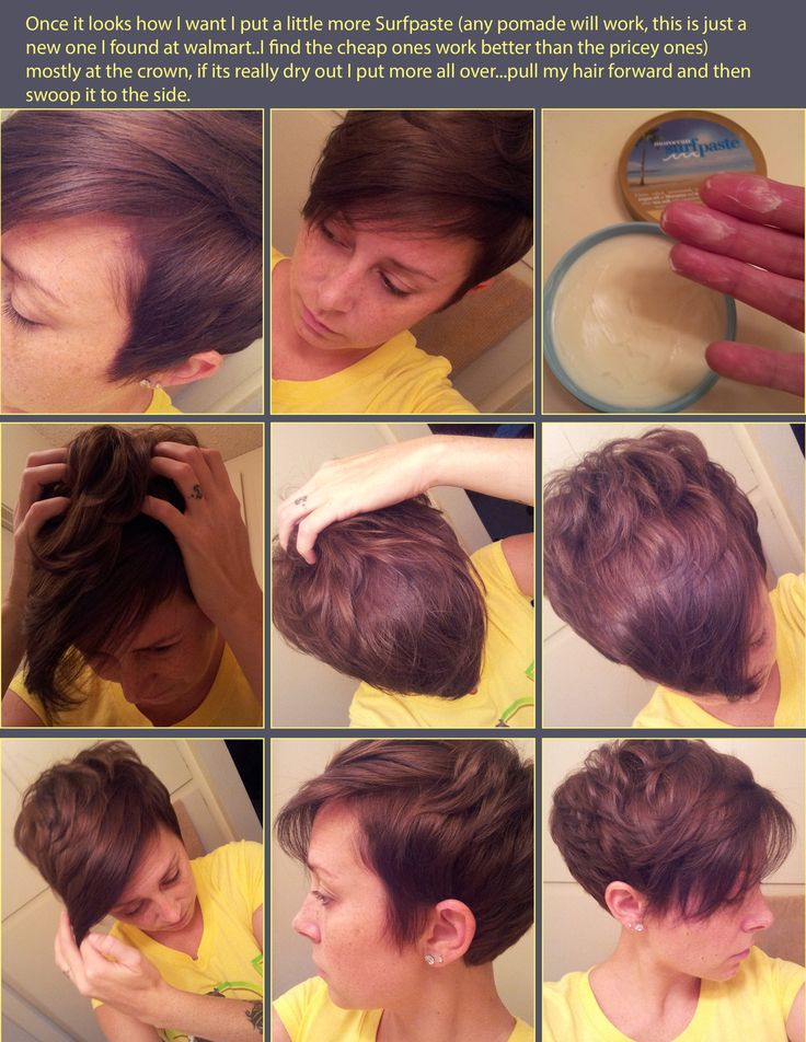 Ways To Style Short Hair 37 Best Hair Images On Pinterest  Short Films Make Up Looks And