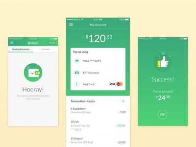 Mobile Payment App Design