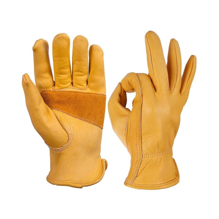 OZERO Leather Work Gloves for ... - $15.95 - 15.95