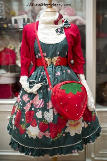 I prefer classic lolita to sweet, but I'd totally wear this coordinate!