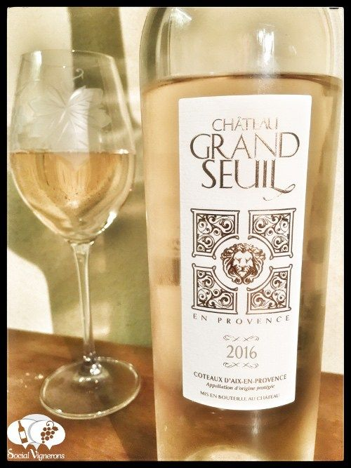 Score 89/100 Wine review, tasting notes, rating of 2016 Chateau Grand Seuil Provence Rosé. Description of aroma, palate, flavors. Join the experience.