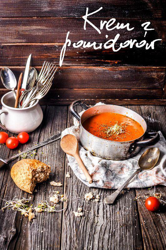 O tej porze roku krem z pomidorów nie jest może najlepszym pomysłem, z tego tytułu, że kupione w sklepie warzywo to, ma niewiele wsp...