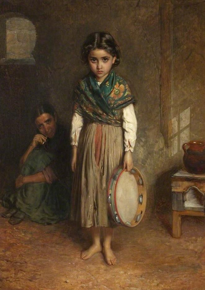 My most favourite painting in the whole wide world!! By John Bagold Burgess...