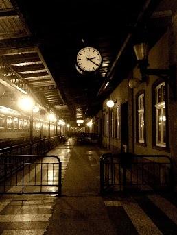 train station, Subotica city, Serbia