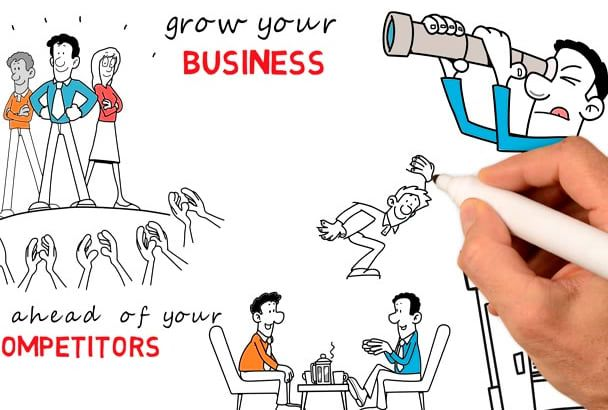 make An Eye Catching captivating Whiteboard Animation video