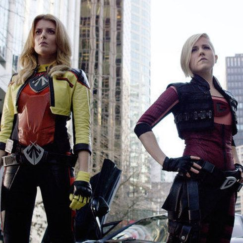 "BuzzFeed sat down with Grace Helbig and Hannah Hart, i.e. Electra Woman and Dyna Girl, to play a game of Superhero ""F"