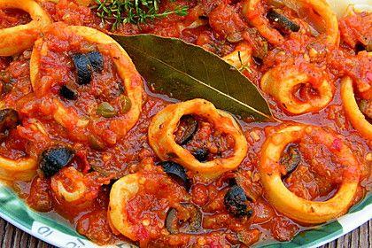 Calamari wie beim Italiener Rezept