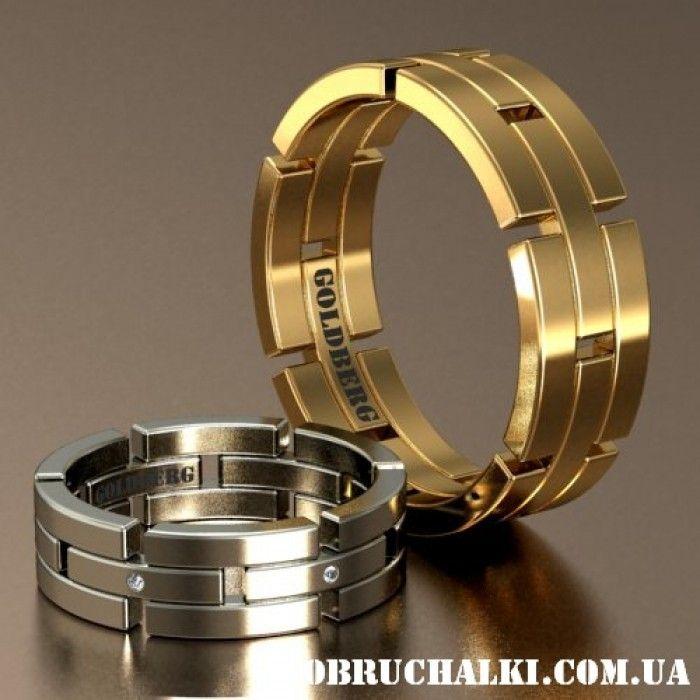 """""""Феррара"""" - объёмные и оригинальные обручальные кольца на заказ"""
