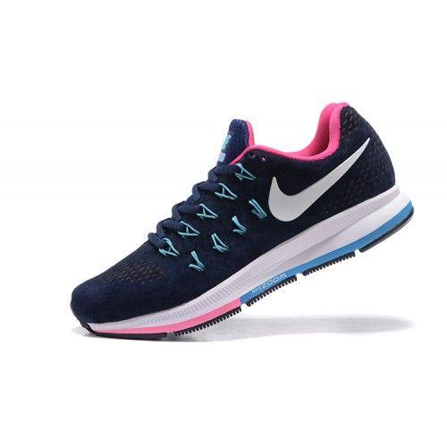 Köpa Billiga Nike Air Zoom Pegasus 33 Dam Bla Persika Online SE