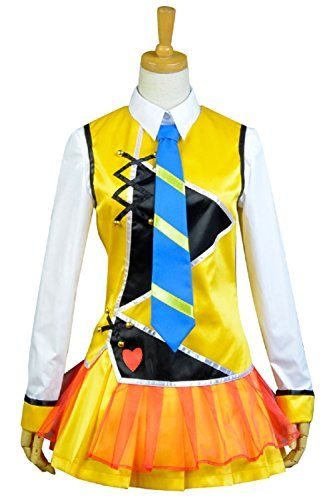 Cosplaybar Womens Cosplay Costume LoveLive Maki Nishikino Stage Uniform Female L *** Be sure to check out this awesome product-affiliate link.