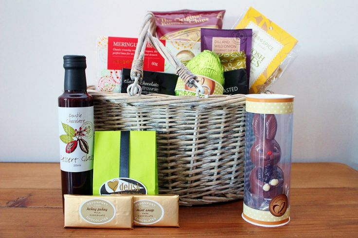 Easter Food Hamper & Mr Bunny Chocolate Easter Egg. http://www.giftloft.co.nz/collections/easter-hampers-chocolate-easter-egg-gift-ideas