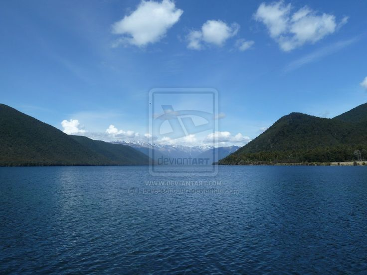 Rotoroa Lake, Nelson Lakes, NZ by FleuressenceArt.deviantart.com on @deviantART