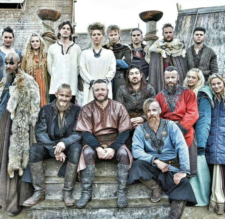Cast of Vikings 2016