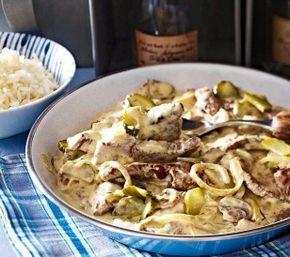 Das Rezept für Steakpfanne à la Bœuf Stroganoff und weitere kostenlose Rezepte auf LECKER.de