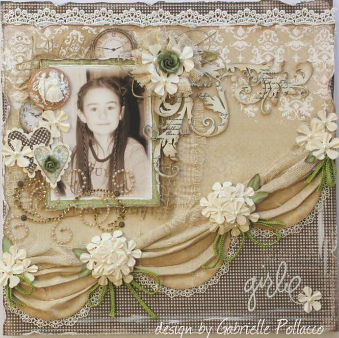 Gabriellep's Gallery: Girlie **Maja Design & Dusty Attic**
