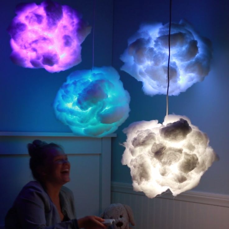 Rainbow Cloud Lamps