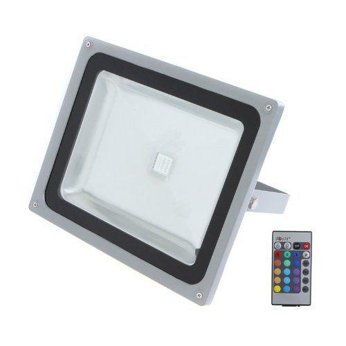 50W LED RGB Color Change Flood Outdoor Light Lamp Remote Control 85-265V by TOMTOP, http://www.amazon.com/gp/product/B008IYFV40/ref=cm_sw_r_pi_alp_fe0Zqb091SBKF