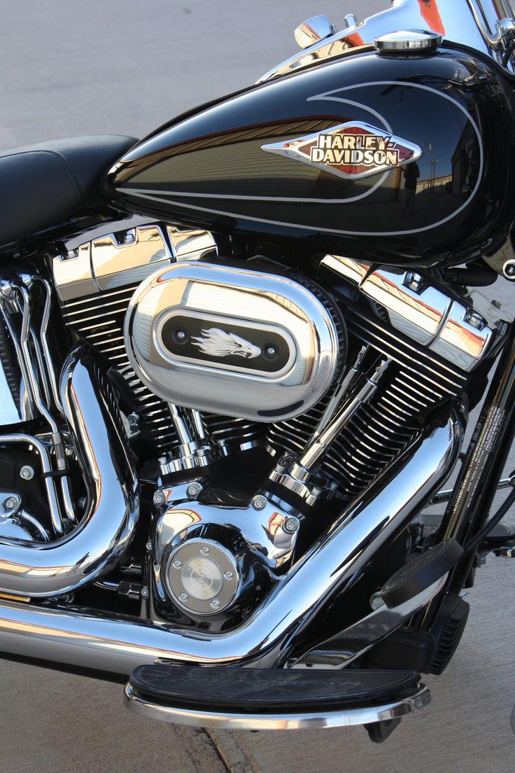 Softail Air Cleaner : Screaming eagle air cleaner vance hines quot bigshots