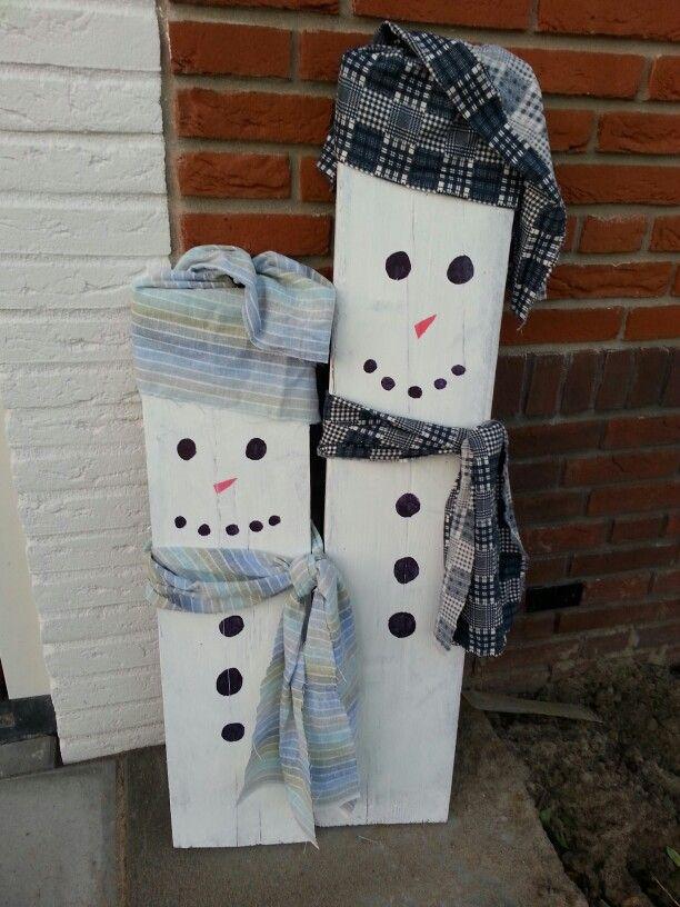 Mr. & Mrs Snowman