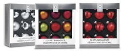 9-ct. Boxed Glass Ornaments from Target $3.00