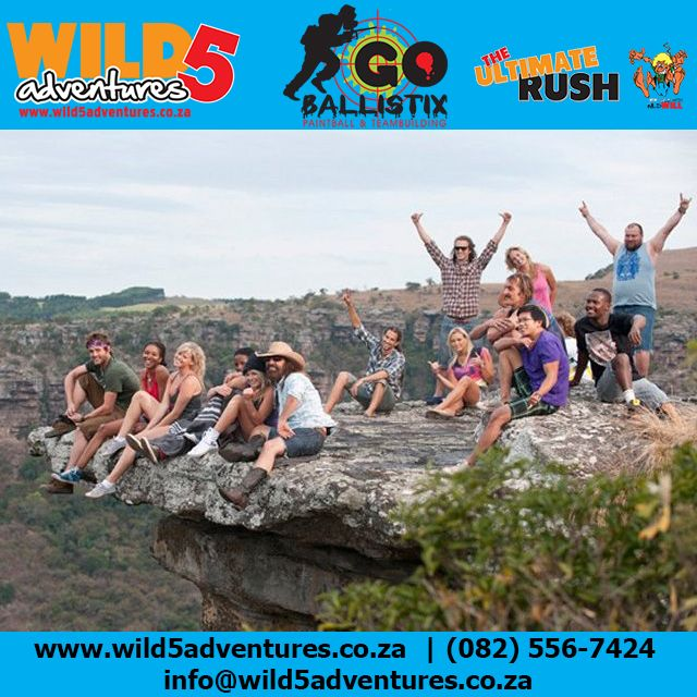 Brave our overhanging rock and take a different perspective on life #Wild5Gorge