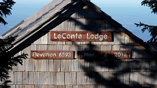 Mount LeConte Lodge in the Great Smoky Mountains (if we can ever get a reservation)!