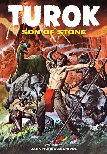 Turok, Son of Stone Archives Volume 10 by Alberto Giolitti, http://www.amazon.co.uk/gp/product/1595828613/ref=cm_sw_r_pi_alp_KCA6qb0Q3KTQR