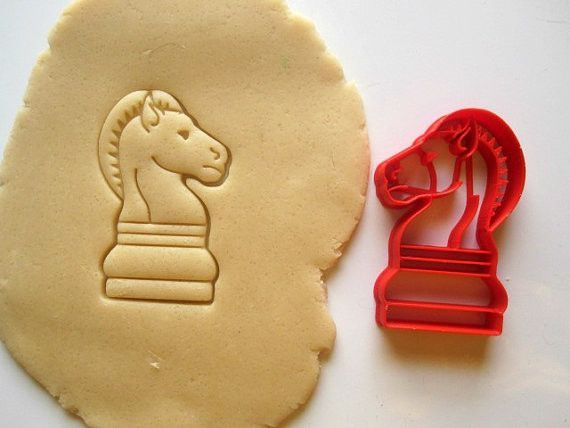 Knight Chess Piece Cookie Cutter/Multi-Sizes