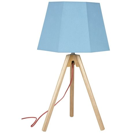 Eccentric Table Lamp  Teal