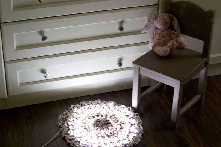 You've seen tons of fairy light ideas, but have you ever thought about putting them on the floor?