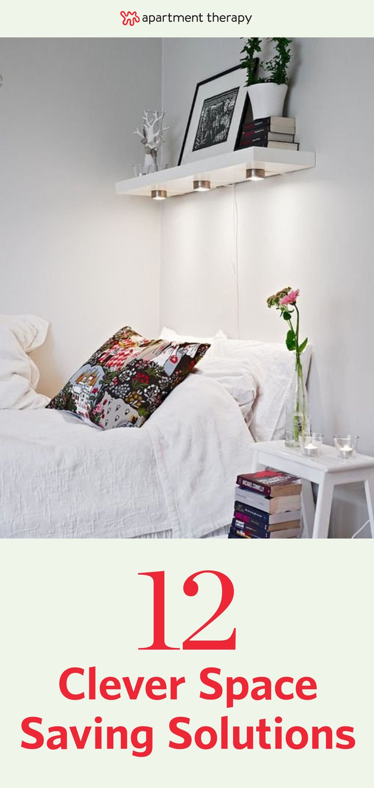 Best 10 space saving bedroom ideas on pinterest space - Small space storage solutions for bedroom ...