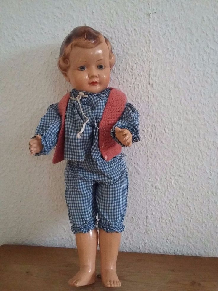 schöne alte Puppe mit Stimme | eBay