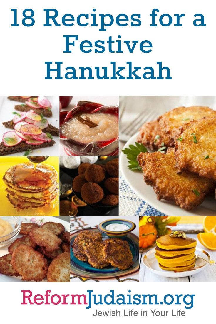 If you're looking for some delicious, oil-filled recipes for your Hanukkah celebration this year, look no further. ReformJudaism.org has traditional and original recipes to make your Hanukkah meals fun, fabulous, and perhaps best of all, fried.