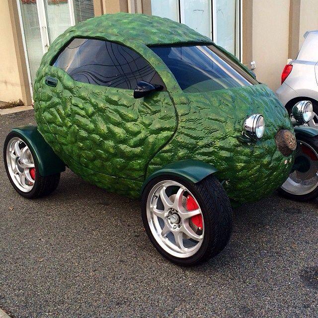STRANGE LITTLE CARS - THE AVOCADO CAR - HOLY GUACAMOLE! #VictoryAutoMN http://victoryautoservice.com/