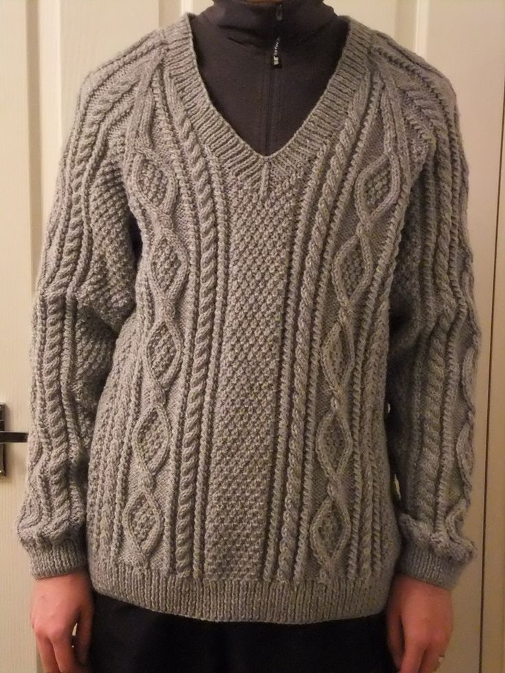 Ravelry: Aran Pullovers for the Family pattern by Sirdar Spinning Ltd.