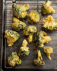 Broccoli Tempura Recipe on Food & Wine #Angelique'scraving