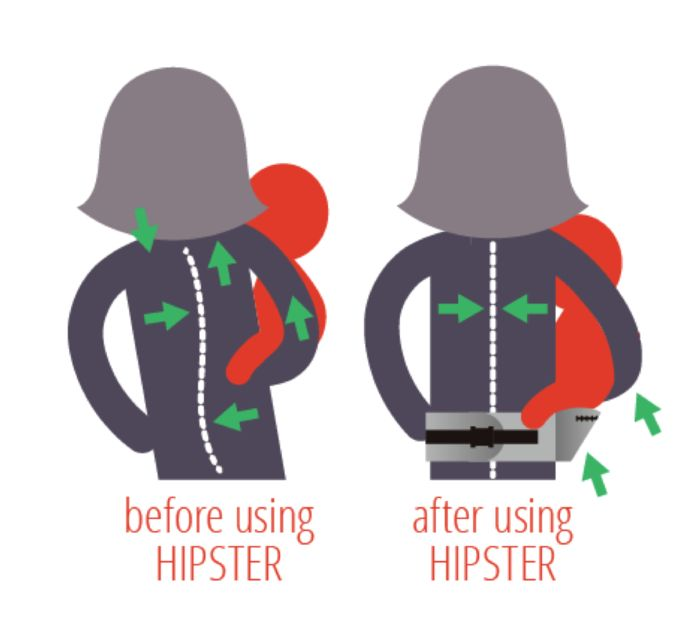 MiaMily HIPSTER™ (Hip Baby Carrier) by MiaMily — Kickstarter (3 mo.-3 years)