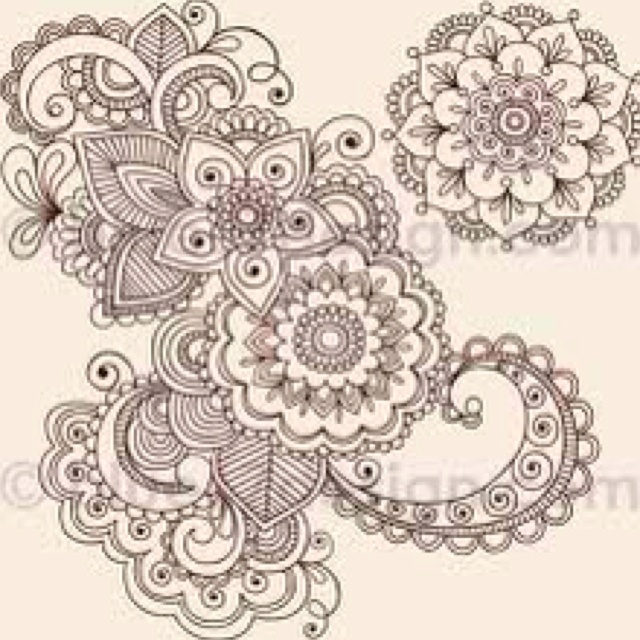 Mehndi Patterns On Paper : Best images about henna on paper pinterest