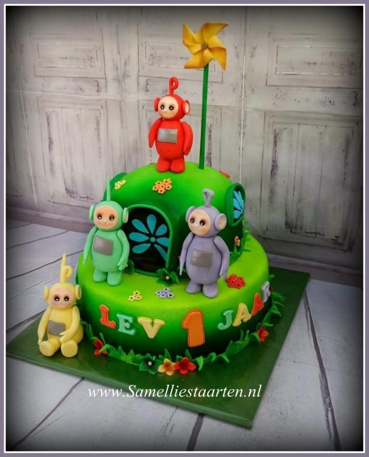 Teletubbie cake - Cake by Sam & Nel's Taarten