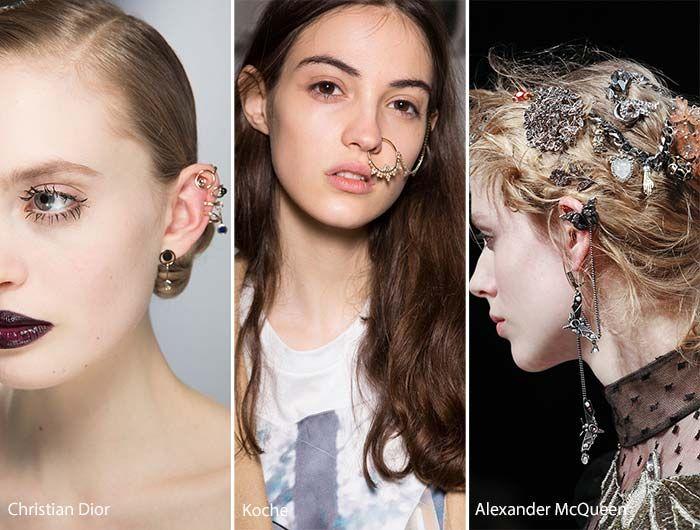 Ear Cuffs, Piercings e outras coisas Punks para as orelhas