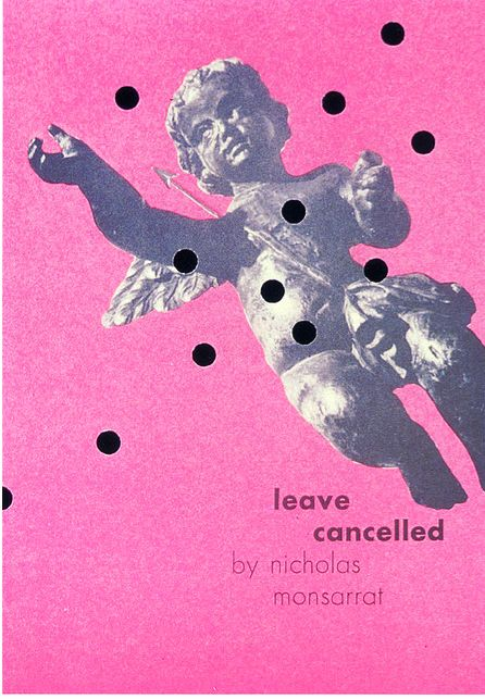 Leave Cancelled book jacket design by Paul Rand. Check out his, and other great books on my graphic design gift guide > click thru link