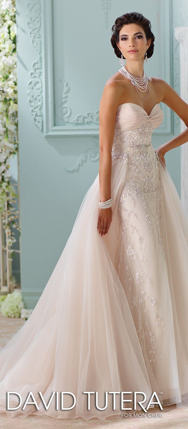 212 best david tutera wedding dresses images on pinterest wedding david tutera for mon cheri spring 2016 wedding dress junglespirit Choice Image