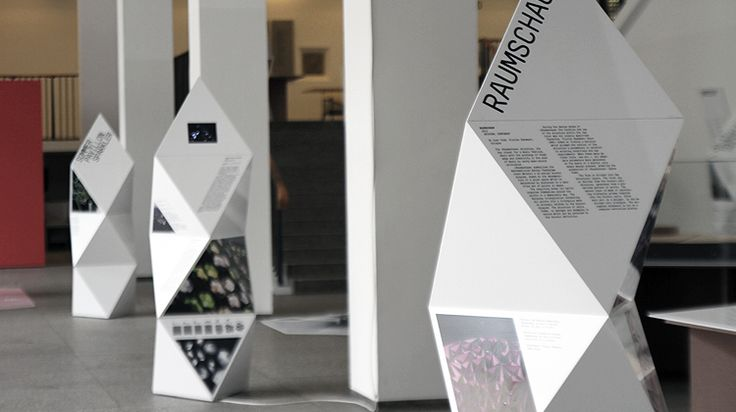 "Exhibition Design for ""Architekturteilchen"""