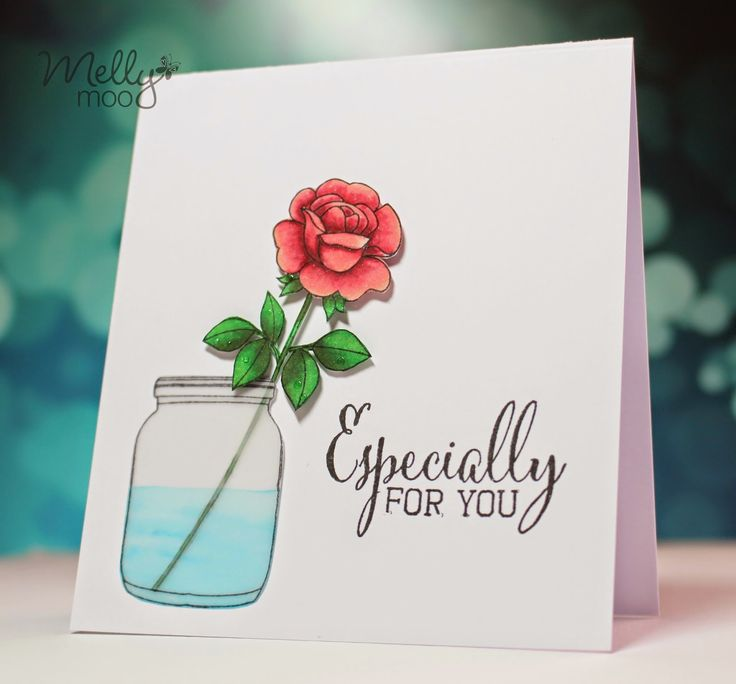 A stunning card by @rebejhoy featuring the FREE Clearly Besotted stamp set with Simply Cards & Papercraft 133. Grab yours here: http://www.moremags.com/home-page-scroller/issue133-simply-cards-papercraft