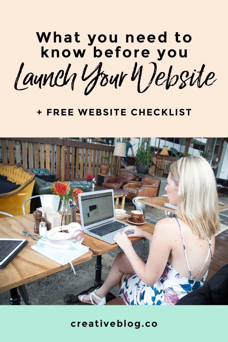 Website Launch | Start a Blog | Web Design