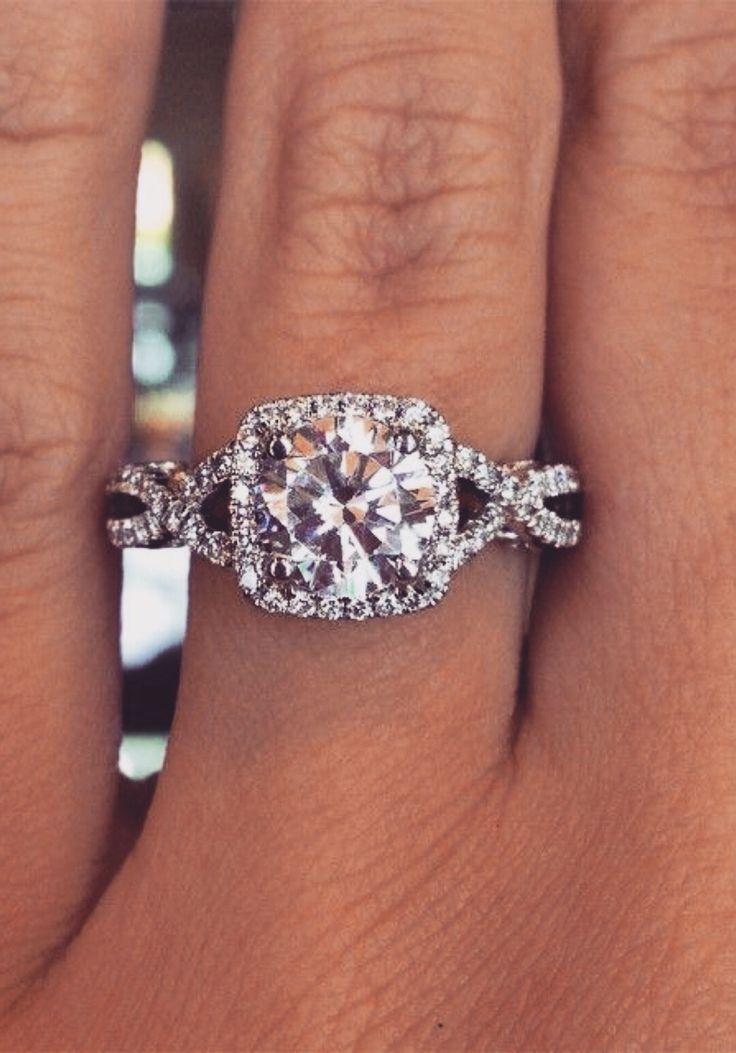 25 best ideas about cushion cut diamonds on