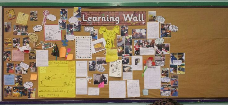EYFS Learning Display We have a #scrapbook learning display in our #reception…