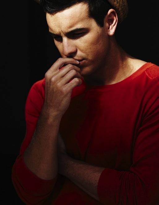 #mariocasas #red #shirt