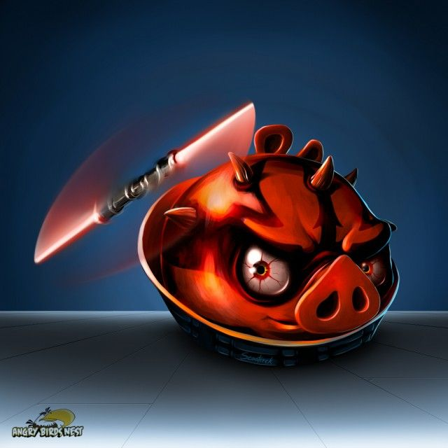 Angry birds star wars darth maul wallpaper set for mobile - Angry birds star wars 8 ...